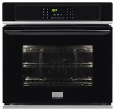 frigidaire gallery 27 built in single electric convection wall oven black