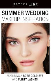 maybelline has summer wedding makeup inspiration and tutorials this season through for an easy