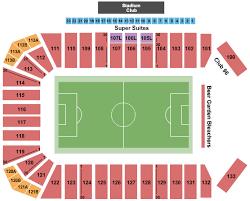 Fc Dallas Seating Chart Toyota Stadium Seating Chart Frisco