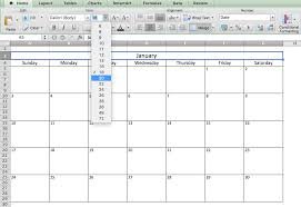 microsoft excel calendar make a 2017 calendar in excel includes free template
