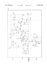 patent us6126435 electronic ignition system for a gas stove patent drawing