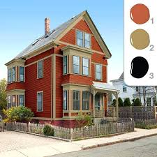 Small Picture Exterior Paint Colors That Look Good With Red Brick House Trim