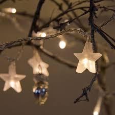 fairy lighting. indoor star fairy lights with 30 warm white leds lighting