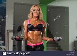 Gym mature who woman workout