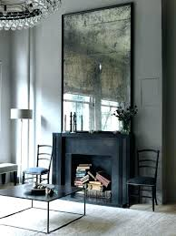 inspirations decorative mirrors for above fireplace decorating the mantel mirror on stone inspiration