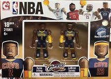 lebron lego. lebron james and kyrie irving nba lego figure set 2-pack. brand new.