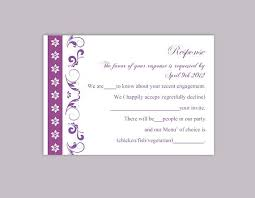 response cards template rsvp response card template wedding response cards maria black and