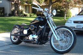2002 heavily modified bobber with a hardtail frame honda shadow