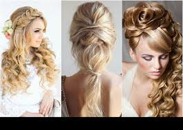 2016 prom hairstyleakeup ideas blonde hair soft braids for long hair prom makeup