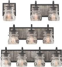 rustic bathroom lighting. Kalco 504631, 504632, 504633, 504634 Bainbridge Bath Lights Rustic Bathroom Lighting H