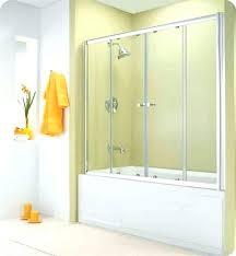 frameless sliding bathtub doors sliding bathtub door width delta frameless contemporary sliding shower door installation