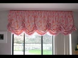 Pouf Valance Curtains