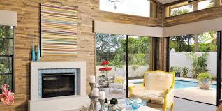 Impressive glass ceiling indoor design inspiration ideas Living Room Fireplace Ideas Elle Decor 65 Best Fireplace Ideas Beautiful Fireplace Designs Decor