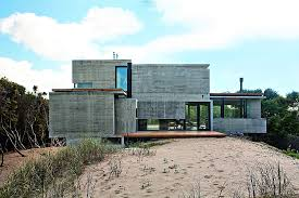 design ideas modern house ushers in industrial style with raw concrete and steel