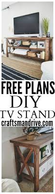 Tv Stand Decor 25 Best Rustic Tv Stands Ideas On Pinterest Tv Stand Decor