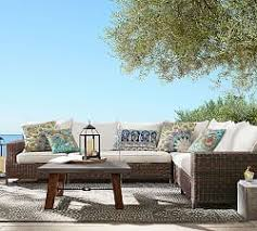 espresso torrey allweather wicker square arm sectional set outdoor sectional11 outdoor