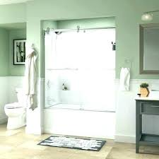 contemporary shower doors installing a glass door how to install on bathtub bathtubs medium size delta
