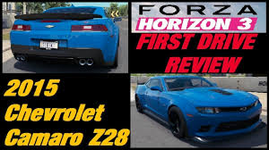 Forza Horizon 3 | 2015 Chevrolet Camaro Z28 | First Drive Review ...