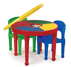 furniture assorted color round wooden table with four legs added by