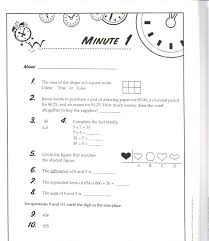 Math : Minute Math Worksheets Pichaglobal Math With Minute Also 1 ...