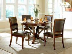 home elegance 5327 48 5 pc helena collection deep cherry finish wood round dining table