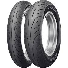 Dunlop Elite 4 Tire Combo Motosport