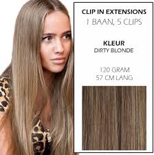 Bolcom Clip In Hairextensions Dirty Blonde