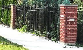 brick and iron fence savemymarriageco