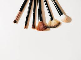 as indicated by bustle olive oil is wonderful at removing heavily caked on makeup from brush bristles and you only need a dime sized amount