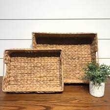 seagrass trunk coffee table inspirational seagrass basket farmhouse style small
