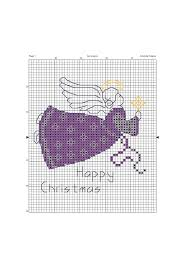 Amanda Gregory Cross Stitch Design Free Christmas Angels