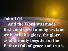 Image result for John 1:14