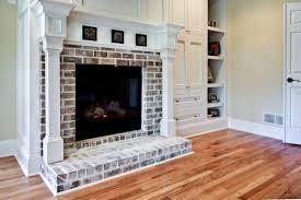 whitewash brick traditional bedroom decorating ideas atlanta
