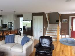 interior painting residential drake fam rm stairs