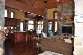Open Stone Fireplace Stone Open Fireplaces Great Living Room Concrete Brick Stone Wall