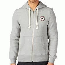 converse zip up hoodie. converse all star grey zip-up hoody sweat 08845c zip up hoodie