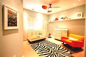 light grey wall paint decoration zebra pattern on carpet design wooden laminate flooring baby room ideas baby room lighting ideas