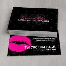 um size of colors makeup artist business card exle plus freelance makeup artist business card