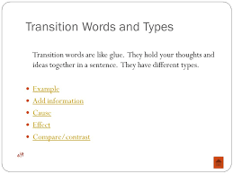 Essay Transition Words List Pinterest