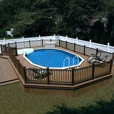 above ground pool with deck above ground pool with deck throughout best decks images on backyard above ground pool with deck