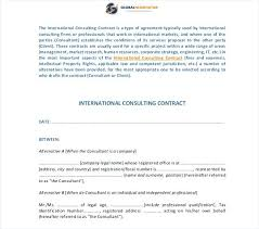 Consulting Service Agreement Contract Template Free Uk Vitaminac Info