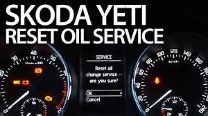 Reset Service Light Audi Q5 How To Reset Oil Change Service Reminder In Skoda Yeti