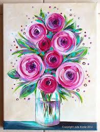 best 25 easy flower painting ideas on easy flower flower painting ideas