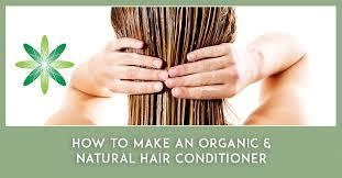 organic natural hair conditioner