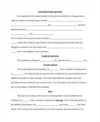 room rental agreements california room rental agreement template rent format pdf