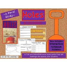 check out this mega pack that supplements the book holes by louis sachar 75 pages and filled with great stuff