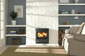 white stone fireplace with wood mantel attractive home interior design