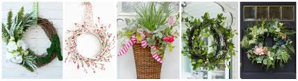 diy monogram spring wreath at the happy housie