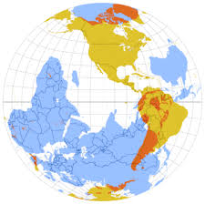 Image result for antipodes+map