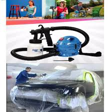 paint zoom electrical portable spray painting machine set for car walls furniture